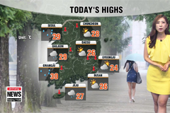 Rain to bring relief from the heat