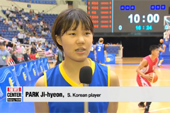 Two Koreas hold second round of basketball friendlies in Pyongyang