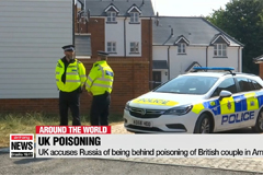 UK, Russia trade barbs over poisoning of British couple in Amesbury