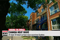 At least 33 dead as heat wave scorches Quebec