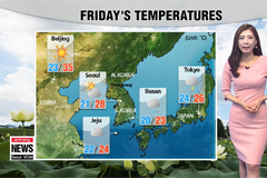 Warm and humid in west, breezy in east