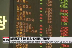 Shares in S. Korea open slightly higher on Friday as markets closely follow D-day of U.S.-China tariff spat