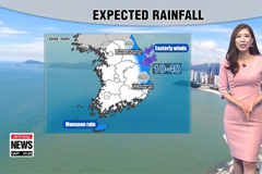 Easterly winds to bring cooler air and rain to the eastern regions