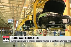 Trump considering higher tariffs as trade war with China escalates