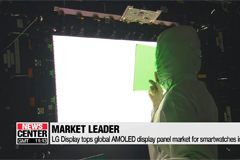 LG Display tops global AMOLED display panel market for smartwatches in 2017: IHS