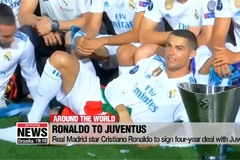 Real Madrid forward Cristiano Ronaldo to sign four-year deal with Juventus