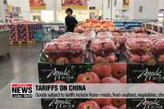 USTR lists $200 bil. in Chinese goods to be hit with tariffs