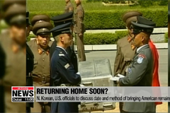 N. Korean, U.S. officials to discuss date and method of bringing American remains home
