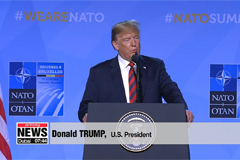 Trump claims successful NATO Summit in Brussels