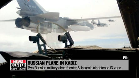 Russian military aircraft enter S. Korea's air defense ID zone