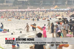 60% of Koreans planning holiday in late July, early August: Survey