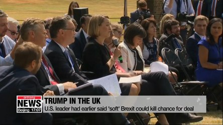 Post-Brexit U.S.-UK trade deal 'absolutely possible': Trump