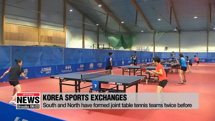 North Korean table tennis players arrive in S. Korea to form joint tea...