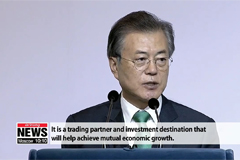 President Moon builds on 'New Southern Policy' during trip to India and Singapore