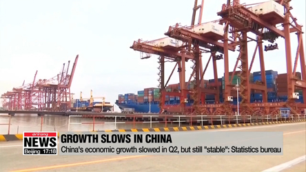 China's economic growth slowed in Q2, but still