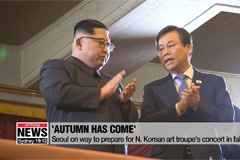 Seoul on way to prepare for N. Korean art troupe's concert in fall