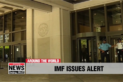 International Monetary Fund warns trade wars could cost global economy US $430 bil.