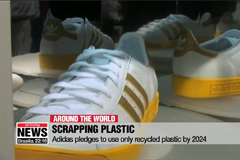 Adidas pledges to use only recycled plastic by 2024
