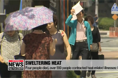 Four people died, over 550 people contracted heat-related illnesses: KCDC