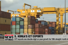 ICT exports rise by double digits for 19th straight month in June