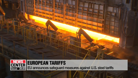 EU to launch safeguards to counter U.S. tariffs on steel and aluminum