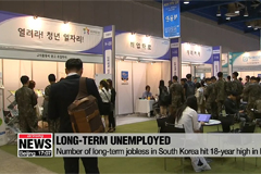 Number of long-term jobless in