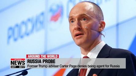 Former Trump adviser Carter Page denies being agent for Russia