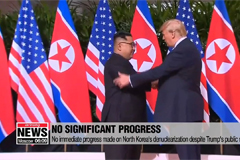 Trump privately frustrated over lack of progress on North Korea's denuclearization: WP