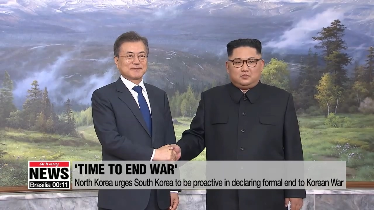 North Korea urges South Korea to be proactive in declaring formal end to Korean War