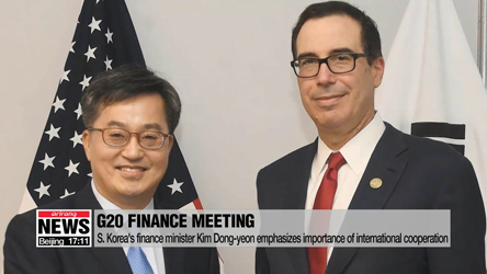 G20 ministers call for greater dialogue on trade tensions