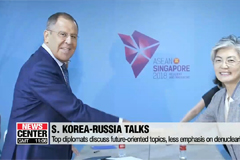 S. Korean FM meets with counterparts from Russia, Japan and China