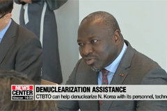 CTBTO chief says it can assist N. Korea's denuclearization process