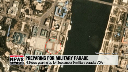 N. Korea preparing for September 9 military parade