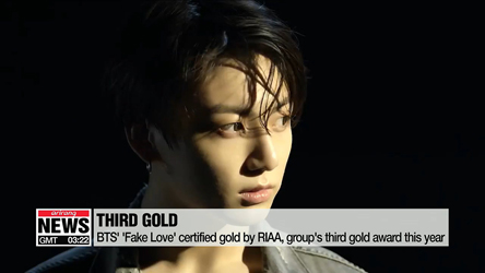 BTS' 'Fake Love' sells more than 500,000 copies in U.S., receives gold certification