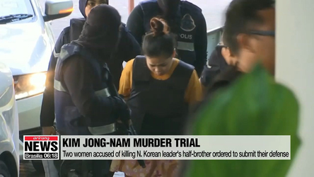Trial to proceed for the two women suspected of killing North Korean leader's half-brother
