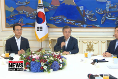 President Moon calls for bipartisan support in ratifying joint declaration signed by two Korean leaders