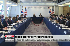 S. Korea, U.S. confirm peaceful nuclear cooperation at High Level Bilateral Commission