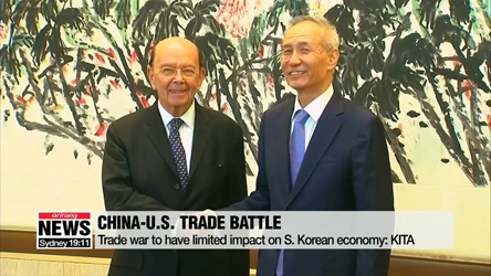 China-U.S. trade war to have limited impact on S. Korean economy