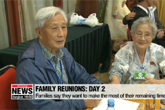 Day 2 of war-torn family reunions over with only 1 day left