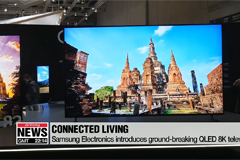 Samsung Electronics introduces ground-breaking QLED 8K TV at IFA 2018