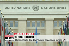 Climate shocks 'key driver' behind rising global hunger: UN
