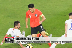 South Korea remain unbeaten under Bento following 0-0 draw against Chile