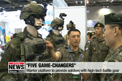 S. Korea holds defense expo to showcase cutting-edge weapons and systems