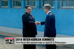 Looking back at first and second 2018 inter-Korean summits