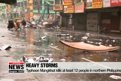 Powerful storms hit northern Philippines, south China and southeastern U.S.