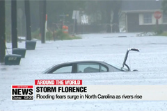 Storm Florence: Flooding fears surge in North Carolina as rivers rise