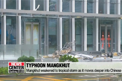 Mangkhut kills at least 4 Chinese along its way into Chinese inland