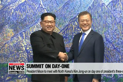 President Moon embarks on three-day trip to Pyeongyang for summit