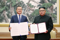N. Korea agrees to shut down its Dongchang-ri missile engine site: Pres. Moon