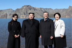 Pres. Moon fulfills wish of visiting Mt. Baekdusan through N. Korean route